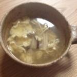 海鮮だしde卵スープ(海鮮だし)