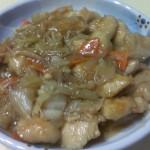 鶏ささみの甘酢あんかけ(味の蔵)