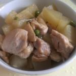 鶏肉と大根の煮物(海鮮だし)