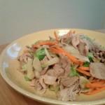野菜炒め(味の蔵)